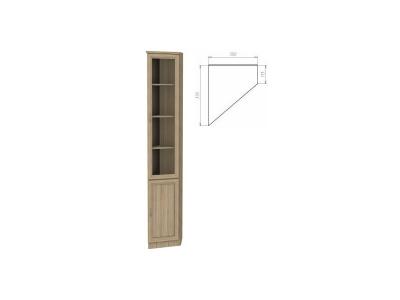 Шкаф для книг артикул 208 дуб сонома