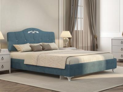 Кровать Adelina 1 Ажур 38 бирюза