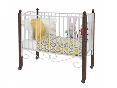 Кровать Женечка Lux Коричневая