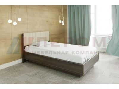 Кровать с мягким изголовьем КР-1011 1200х2000 Акация Молдау