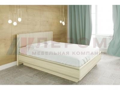 Кровать с мягким изголовьем КР-1013 1600х2000 Ясень Асахи