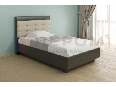 Кровать с мягким изголовьем КР-1052 1400х2000 Дуб Венге