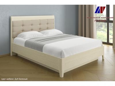Кровать с мягким изголовьем КР-1073 1600х2000 Дуб Беленый