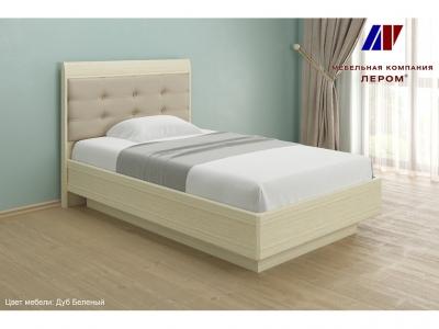 Кровать КР-1851 1200х2000 Дуб Беленый