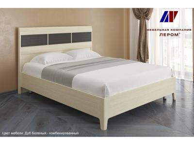 Кровать КР-2763 1600х2000 Дуб Беленый - комбинированный