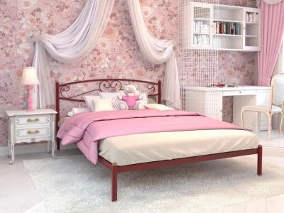 Кровать Каролина красная