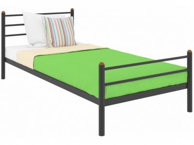 Кровать Милана Мини Plus чёрная