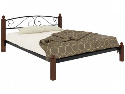 Кровать Вероника Lux чёрная