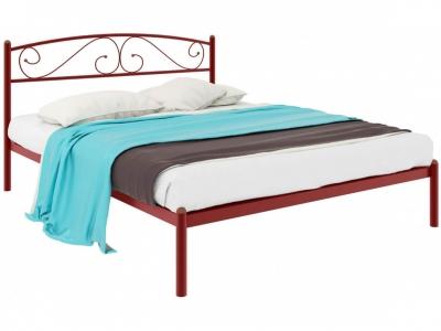 Кровать Вероника красная