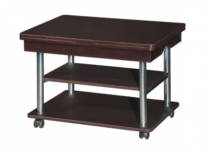 Стол журнальный Агат-22.2 Венге 600(1200)х800х530(730)