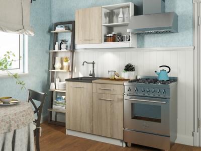 Кухонный гарнитур Алиса мини №1 Дуб Санома