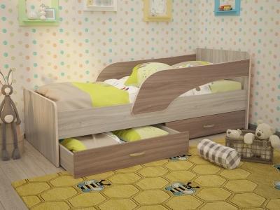 Кровать детская Кроха ясень шимо