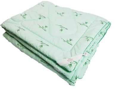 Одеяло стеганое на бамбуковом волокне теплое