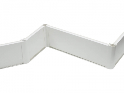 Цоколь кухонный ДО-008 Белый