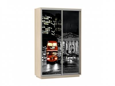 Шкаф-купе Фото Хит Ночной Лондон Ясень шимо светлый
