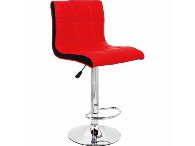 Барный стул Олимп WX-2318B экокожа красный
