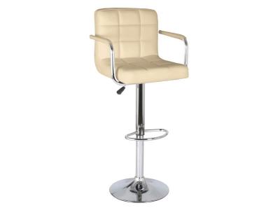 Барный стул Крюгер АМ WX-2318C экокожа бежевый