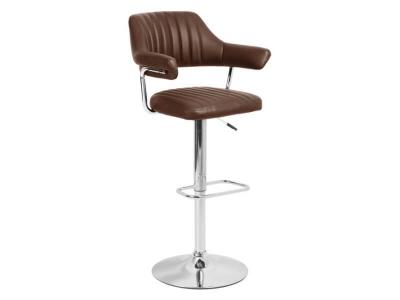 Барный стул Касл WX-2916 экокожа коричневый