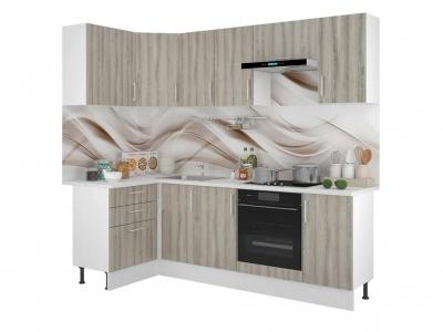 Кухонный гарнитур угловой Европа 1200х2400 Таормино