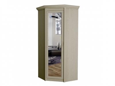 Шкаф угловой с зеркалом 662 Флоренция дуб гарвард 625х2316х595