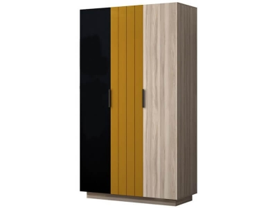 Шкаф 3-дверный 780 Граффити 1200х2116х519 мм