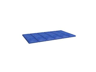Подушка 1 Калейдоскоп 784х375х26 синяя