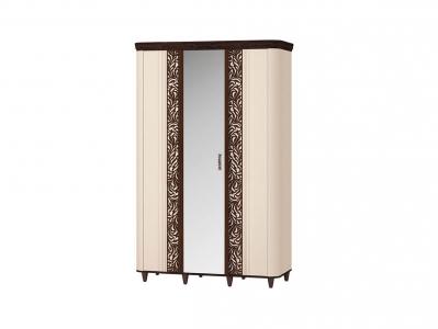 Шкаф трехдверный с зеркалом 92.12 Катрин 1450х600х2290