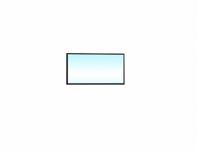 Зеркало навесное 24 Комфорт 780х20х406 Венге