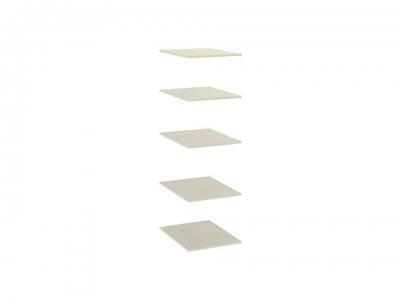 Комплект полок Лорена ТД-254.07.40-01 Штрихлак
