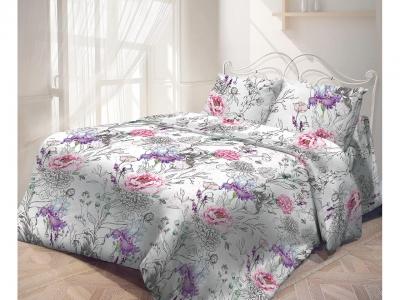 Комплект постельного белья Самойловский Текстиль 1,5СП Пурпур (арт. 7313729)