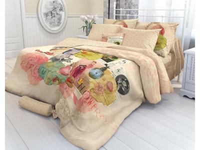 Комплект постельного белья Verossa Перкаль Constante Семейный Portabello