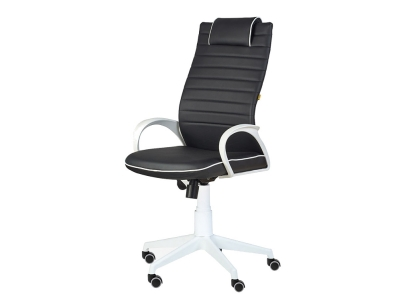 Кресло Квест White черный