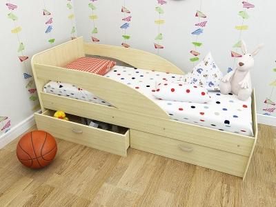 Кровать детская Кроха дуб