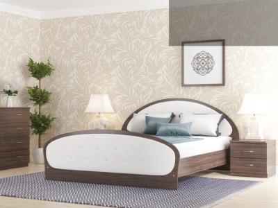 Кровать Валенсия с мягкой спинкой