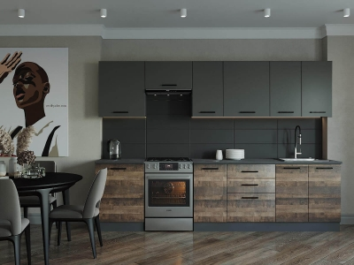 Кухонный гарнитур Гранж-3000