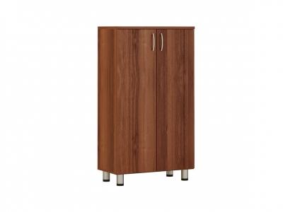 Шкаф 3 секции с дверями ЛДСП 82.30 Лидер 760х390х1250