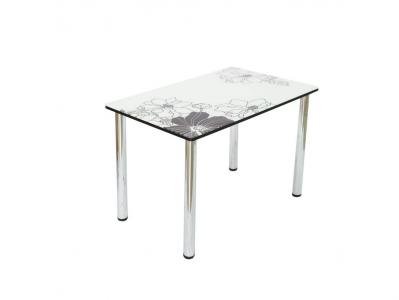 Стол со стеклом Линда