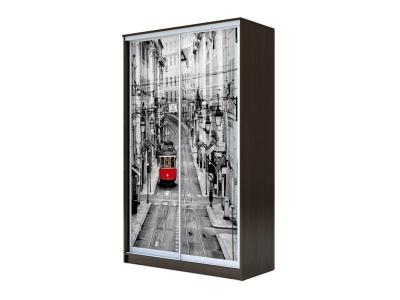 Шкаф-купе Хит 2-х дверный Лондон Венге Аруба