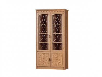 Шкаф для книг Лючия 184 дуб ридинг 1142х2162х458