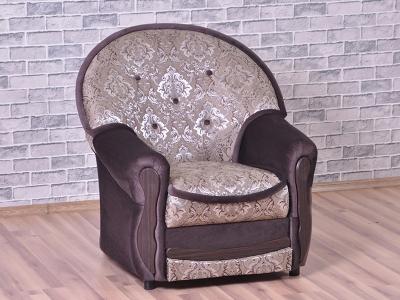 Кресло Мадрид Flora damask brown