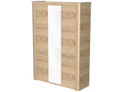 Шкаф 3-х дверный Магнолия Дуб бардолино 1598х558х2280