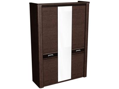 Шкаф 3-х дверный Магнолия Дуб венге 1598х558х2280