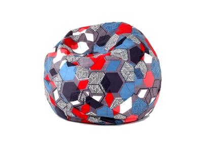 Кресло-мешок Мяч М кат.2 geometry slate