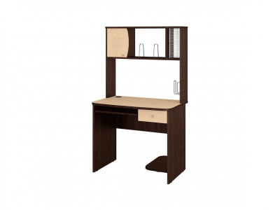 Стол компьютерный Орион-2.10 Венге - Танзай 900х600х1570