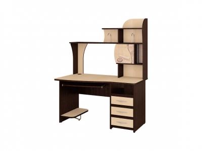 Стол компьютерный Орион-3.11 Венге - Танзай 1350х770х1740