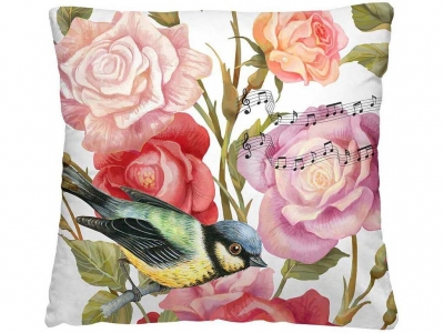 Подушка-думка 40/40 Птица дивная