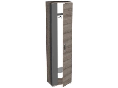 Шкаф для одежды Ханна ПХ-1 540х371х2110 Ясень Таормино