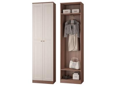 Шкаф для одежды с выдвижной штангой Лестер
