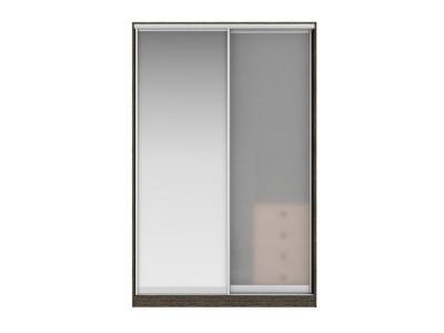 Шкаф-купе Джонни Вариант 6 Фасады Зеркало и Стекло матовое