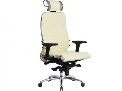 Компьютерное кресло Samurai K-3.03 бежевый-720 с ковриком СSm-25